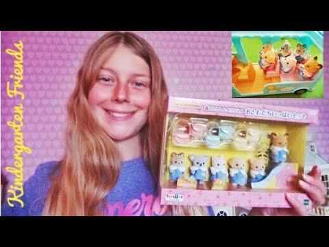 Sylvanian Families Kindergarten Friends Set JP Unboxing (Exclusive To Toys R Us Japan)