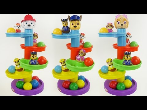 Paw Patrol Ball Maze Preschool Toddler Toy Best Video to Lea