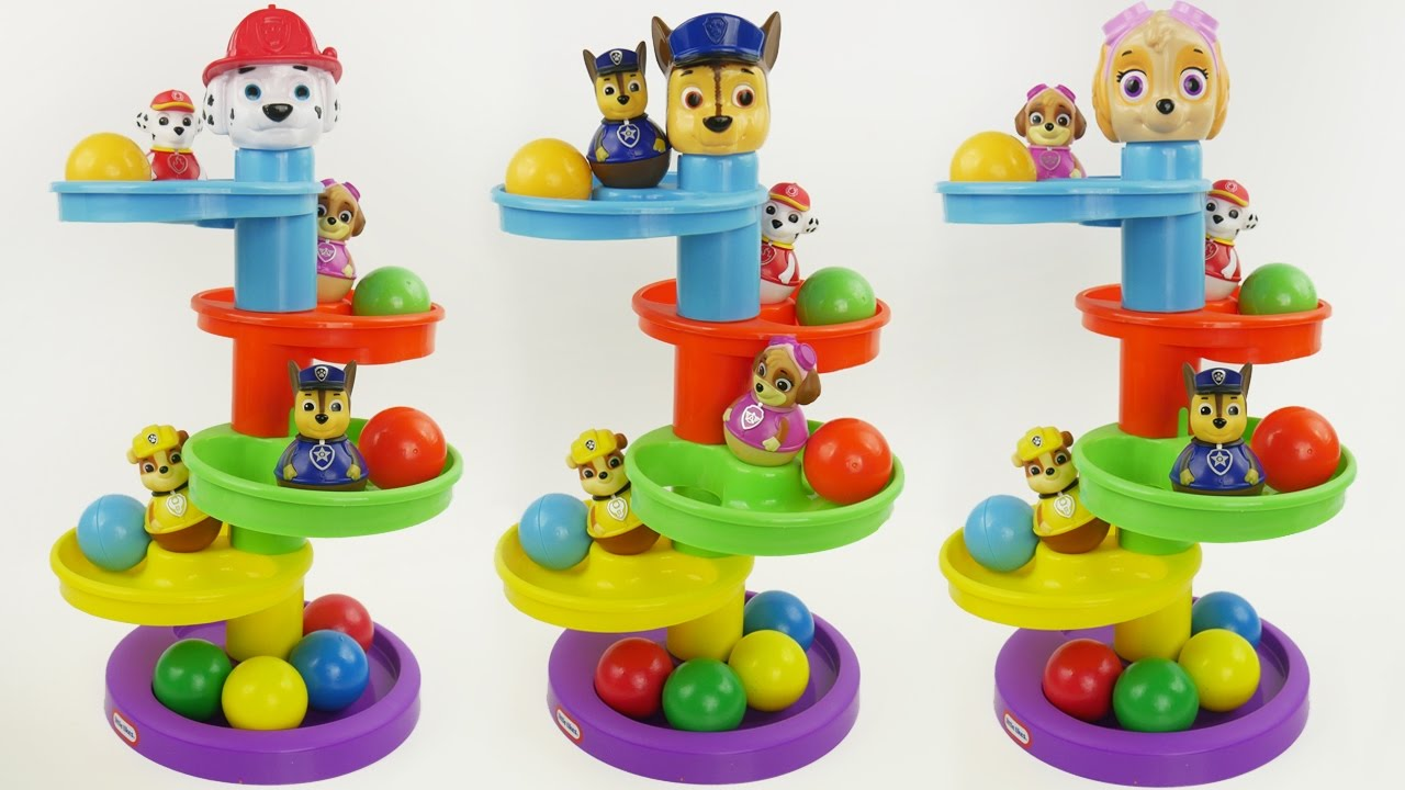 Paw Patrol Ball Maze For Kids Learning Youtube