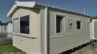 The caravan holiday home we had at Woolacombe Bay holiday park Twitchen House North Devon Ilfracombe