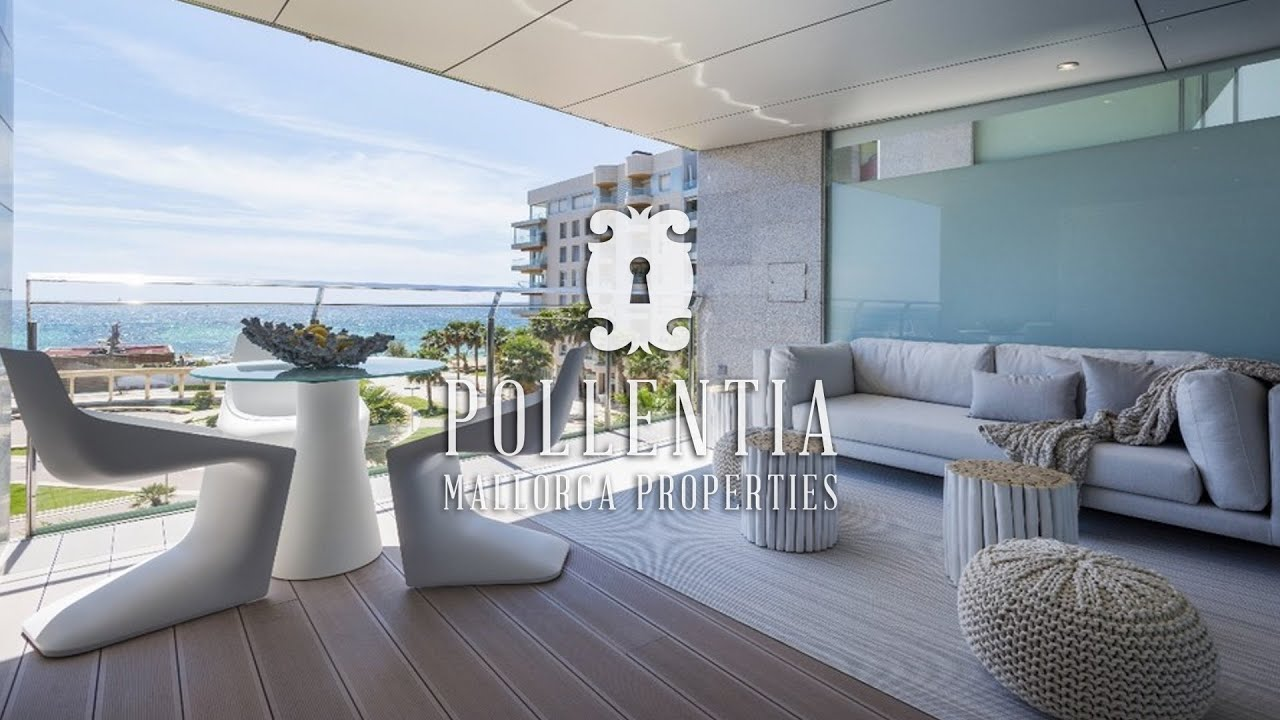Luxury apartments for sale on Palma´s front line Portitxol ...