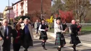 Il Bracciale di Sterline: 67 anni dopo le cornamuse dei Kirkpatrick a Botteghe d
