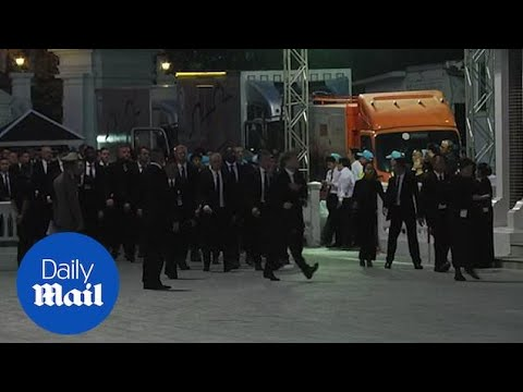 Leicester Football Team Arrive In Bangkok For Vichai's Funeral