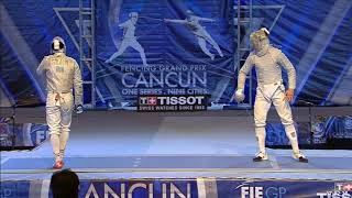 2018 M S Individual Cancun MEX GP Final podium OH KOR vs SZILAGYI HUN