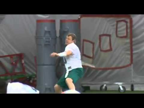 "Chad Pennington Rapping to Eminem ""Lose Yourself"""