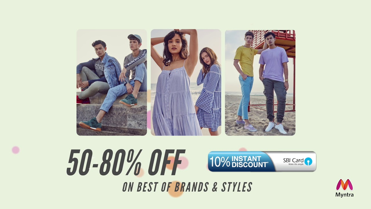 5b4a1ecb768a Myntra Blockbuster Sale Prices revealing at 5 PM - YouTube