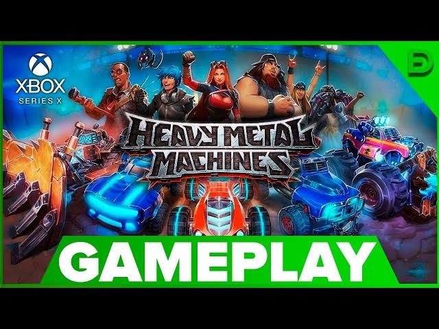 HEAVY METAL MACHINES — GRATUITO P/ XBOX ONE, PS4 E PC!