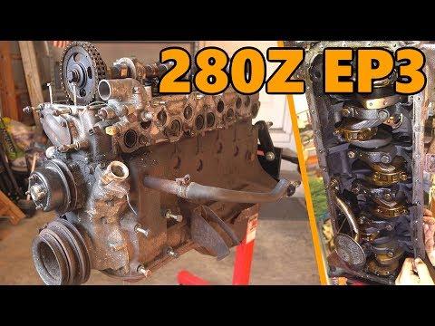 $1000 Datsun 280z Engine Rebuild (Ep.3)