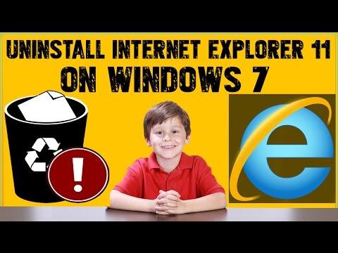 How To Uninstall Internet Explorer 11 On Windows 7-Completely Remove Internet Explorer 11