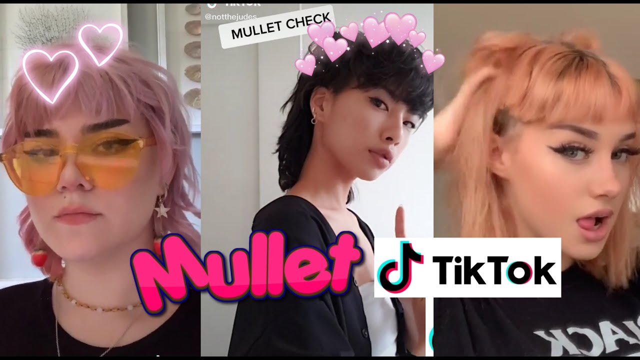 BEST MULLET/SHAG HAIRCUTS OF 15 ✨ woman edition   TikTok ...