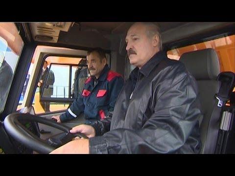 Лукашенко лично протестировал