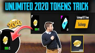 """HOW TO GET UNLIMITED """"2020 TOKEN"""" - TRICK FOR FREE VOUCHERS - Garena Free Fire"""