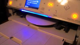 My first Blu Ray disk burned and printed