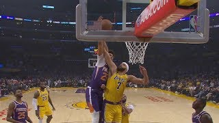 Johnson Dunks on McGee! LeBron 5th FTs All Time! 2019-20 NBA Season