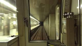 前面展望 大阪地下鉄四つ橋線 住之江公園→西梅田