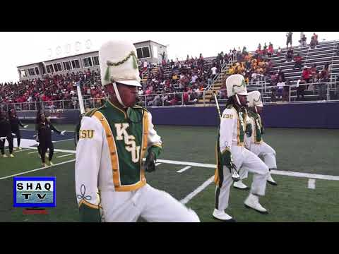 Kentucky State University Marching In @ Shaw 19th Annual Battle of the Bands 2018
