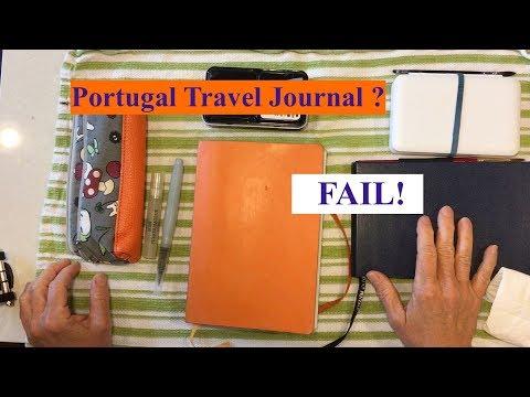Portugal Travel Journal Fail