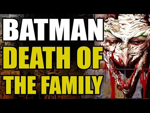 DC Comics New 52 Batman: Death of The Family