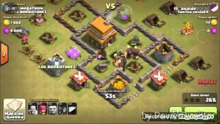 Clash Of Clans # como matar a valkiria no cv 4 e 5