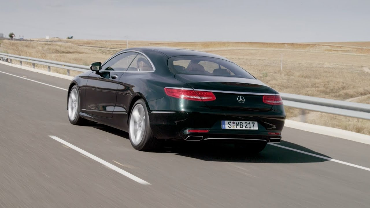 2015 mercedes s 500 coupe on the road youtube. Black Bedroom Furniture Sets. Home Design Ideas