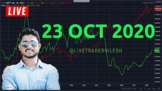 Live Stock Market Analysis in NSE 23 rd October 2020