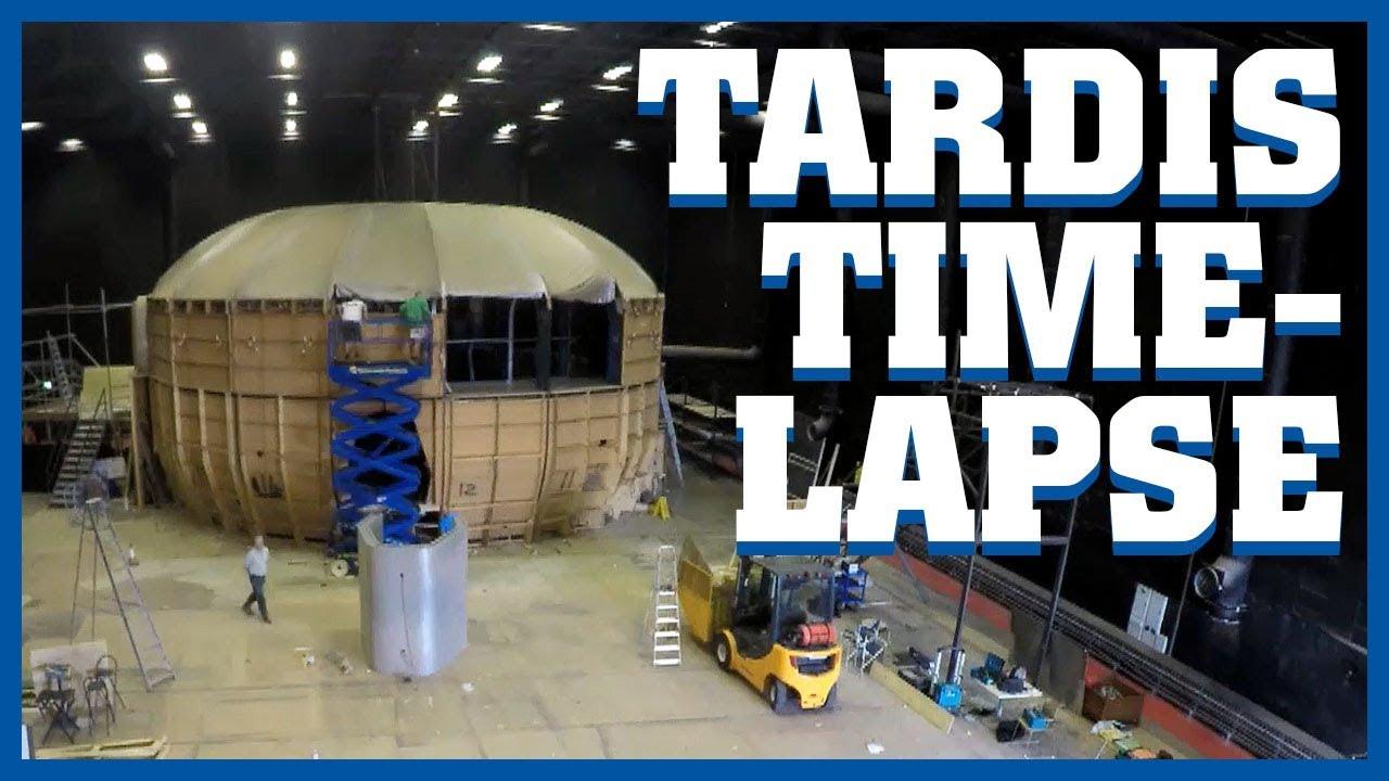 tardis deconstruction timelapse doctor who youtube