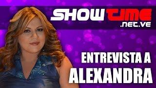 Alexandra entrevistada por SHOWTIME