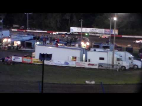 Modified Heat 6 @ Hamilton County Speedway 08/09/16