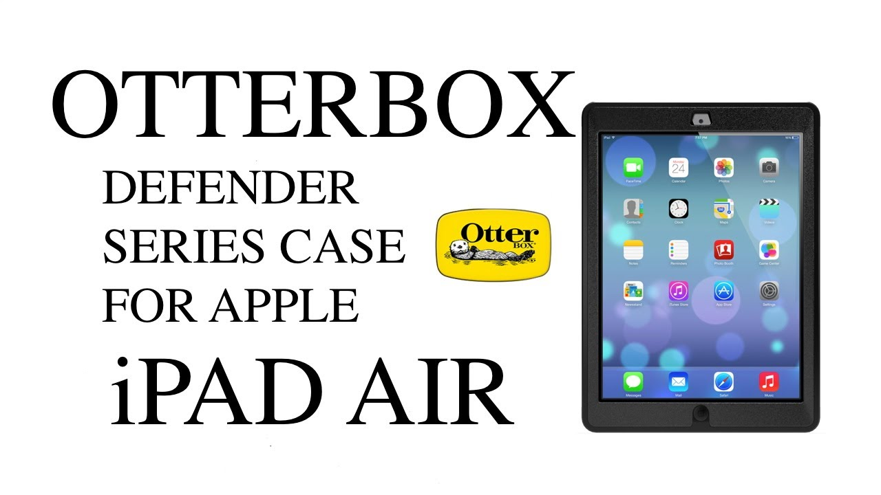 Otterbox Defender Series Case For Apple iPad Air & 2 Story ...
