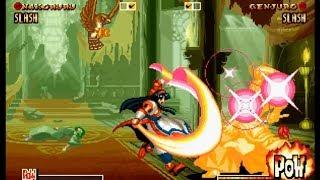 Samurai Shodown IV: Nakoruru playthrough / lvl-4 【60fps】