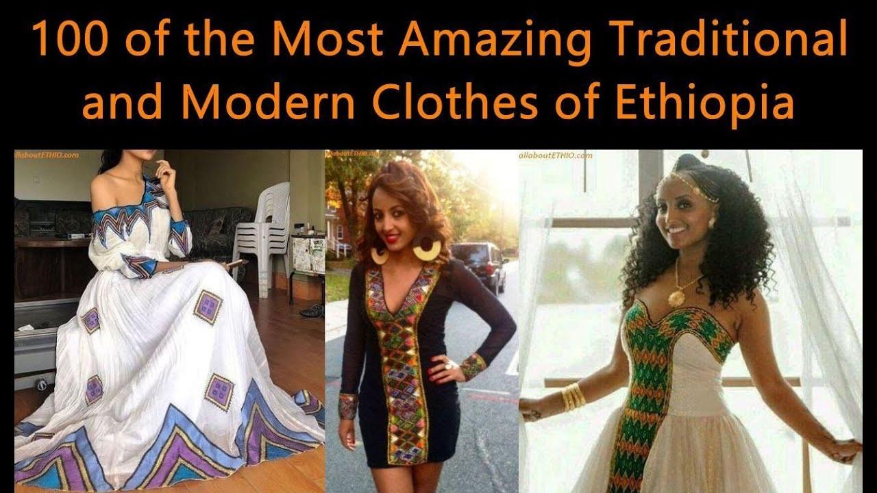 100 Amazing Modern & Traditional Dress (Habesha Kemis/Kemise) of Ethiopia in 2019