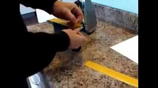 Laminate Kitchen Worktops And Attaching Edging Strips