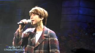 [Fancam] 151114 KYUHYUN The Agit concert - Till I Reach Your Star 너의 별에 닿을 때까지 (규현)
