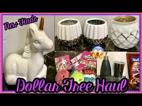 DOLLAR TREE HAUL | NEW FINDS WOW WALMART JEFFERSON BRAND WORTH $20.00 FOR $1.25 😱| DEC 11 2018