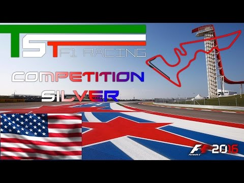 TST Competition Silver F1 2016 #18 GP Austin Texas USA 28.03.17