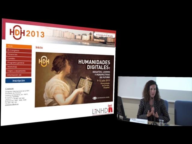 Las Humanidades Digitales hoy: Asociaciones, centros, infraestructuras y captación de recursos