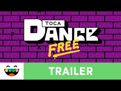 Create Your Own Dance With Toca Dance Free | Gameplay Trailer | @TocaBoca