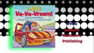 Book Trailer For 1-2-3 Va-va-vroom!