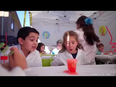 Kids Science Party - Amazing Kids Parties Australia