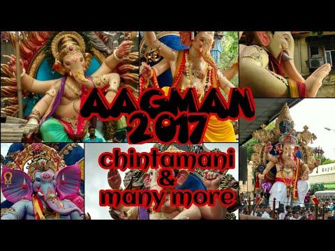 vlog 1-AAGMAN 2017 chintamani ,fort cha raja ,bhuleshwar ,Kari road cha raja ,mumba Devi