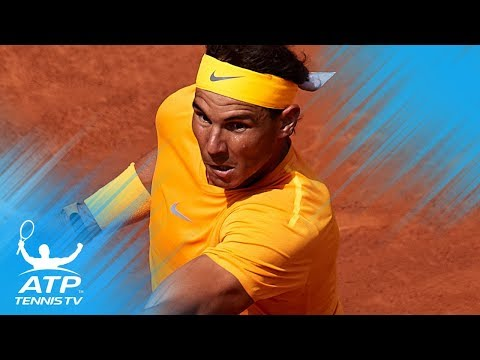 Nadal rolls on; Klizan upsets Djokovic | Barcelona 2018 Highlights Day 3
