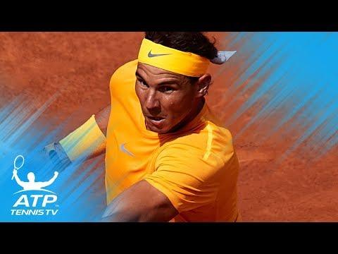 Nadal rolls on; Klizan upsets Djokovic   Barcelona 2018 Highlights Day 3