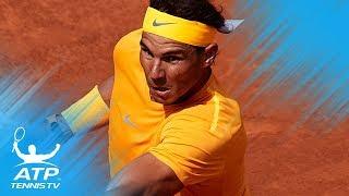 Nadal rolls on; Klizan upsets Djokovic | Barcelona 2018 Highlights Day 3