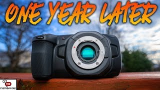 Is the Blackmagic Pocket Cinema Camera 4k WORTH Buying?! One Year After Release!
