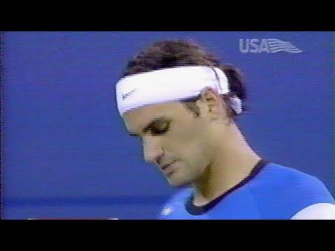 Agassi Vs Federer US Open 2004