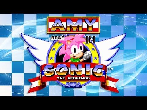 Amy Rose in Sonic the Hedgehog - Walkthrough