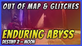 How to break the boundaries and glitch out of Enduring Abyss on the Moon in Destiny 2.
