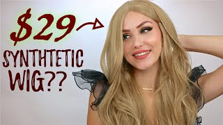 MAKING CHEAP SYNTHETIC WIGS LOOK REAL