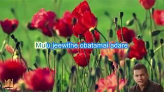 Sulangak Wela Oba Soya Enna One by Shihan Mihiranga With lyrics(Karaoke)