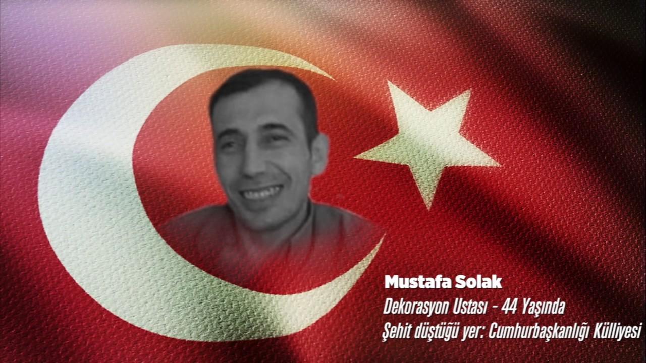 15 Temmuz Şehidi Mustafa Solak
